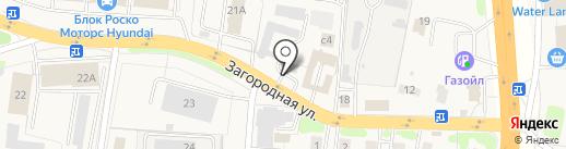 Магазин автозапчастей на карте Коляново