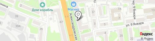Художественный салон на карте Иваново