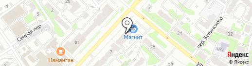 Ивановский на карте Иваново