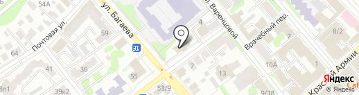 Межшкольный учебный комбинат №1 на карте Иваново
