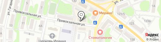 Самоцветы от Соколова на карте Костромы