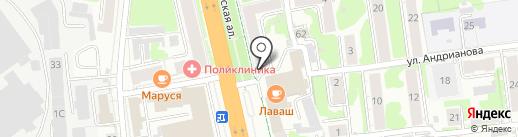 Магазин товаров для творчества и рукоделия на карте Иваново