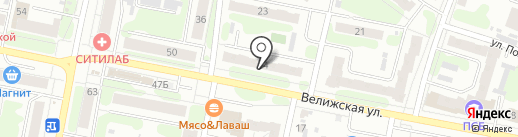 Бигуди на карте Иваново