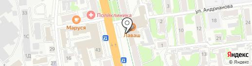 Альвента-строй на карте Иваново