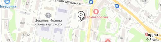 Имидж Дог на карте Костромы