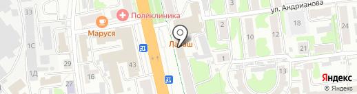ГЛАВВЕРХНЕВОЛЖСКСТРОЙ на карте Иваново