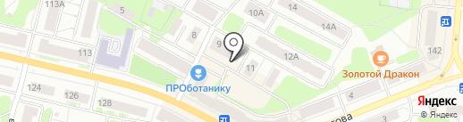 Ахиллес на карте Костромы