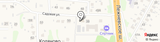 Тритон на карте Коляново