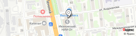 Fusion на карте Иваново