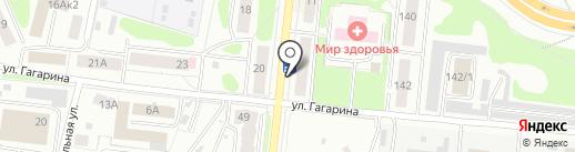 Линия График Кострома, ЗАО на карте Костромы