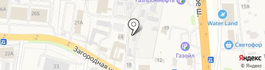 Автомойка на Загородной на карте Коляново