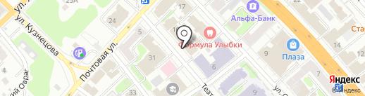 Служба государственной жилищной инспекции Ивановской области на карте Иваново