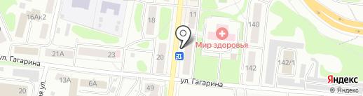 Магазин трикотажа на карте Костромы