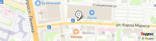 Салон оптики на карте Иваново