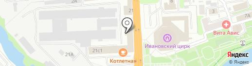 Россельхозбанк на карте Иваново