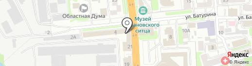 Золотое время на карте Иваново