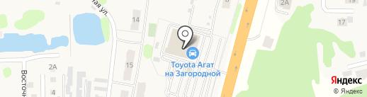 Тойота Центр Иваново на карте Коляново