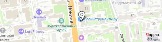 Хоум Кредит энд Финанс Банк на карте Иваново
