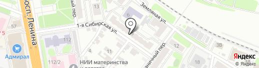 Нагорная-Текстиль на карте Иваново