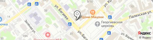 Вода & Тепло на карте Иваново