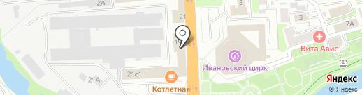 Саюри на карте Иваново