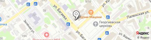 Божья коровка на карте Иваново