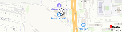 Московский на карте Коляново