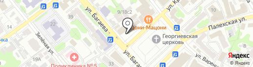 Праздничное агентство на карте Иваново
