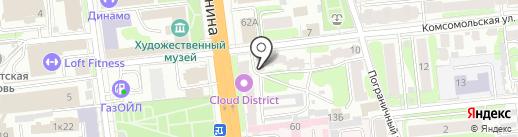 Окна+ на карте Иваново