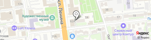 Адвокатский центр на карте Иваново