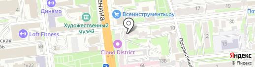 На ручках на карте Иваново