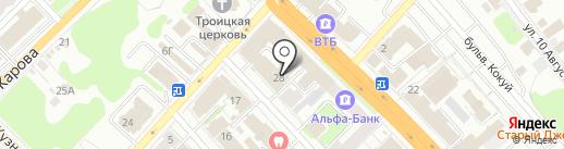 Ростелеком для бизнеса на карте Иваново