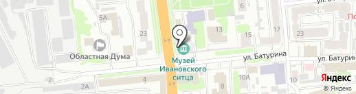 Парабола на карте Иваново