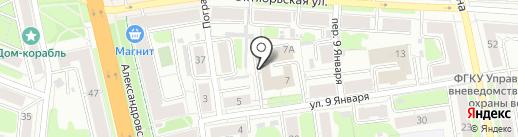 Тэросс на карте Иваново