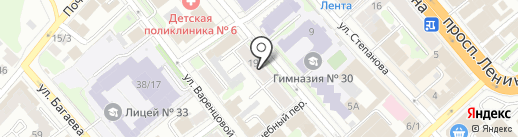 Нотариус Комкова О.А. на карте Иваново
