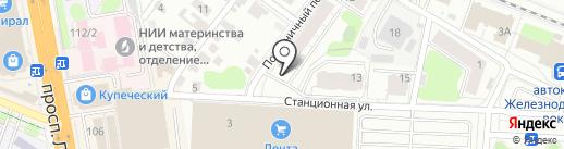 Ветеринарный участок областной ветеринарной станции на карте Иваново