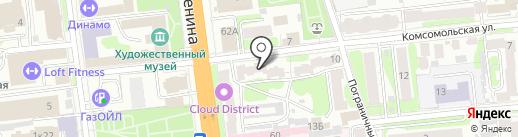 Сеть компьютерных клиник на карте Иваново