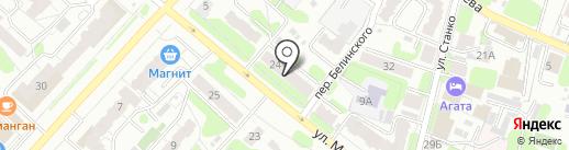 Ивсэйл на карте Иваново