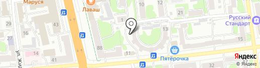 Ситилаб-Иваново на карте Иваново