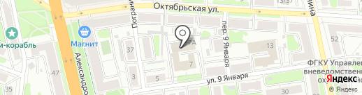 Волжский на карте Иваново