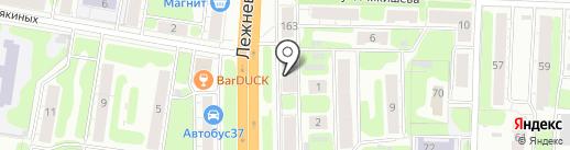Мон Амур на карте Иваново