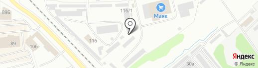 Тент+ на карте Костромы
