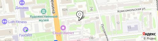 Агентство недвижимости на карте Иваново