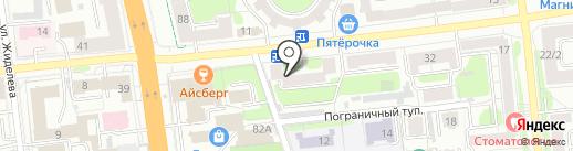 Макс, ЗАО на карте Иваново