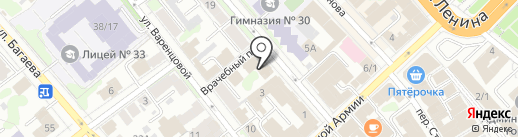 АНТЭКС СТРОЙ на карте Иваново