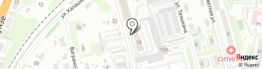 МРЭО ГИБДД по Ивановской области на карте Иваново
