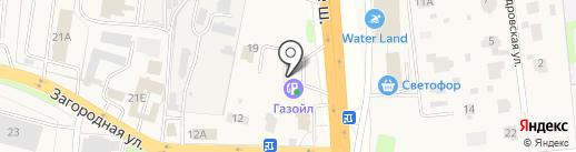 АЗС на карте Коляново