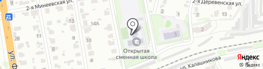 Комбинат школьного питания Октябрьского района на карте Иваново