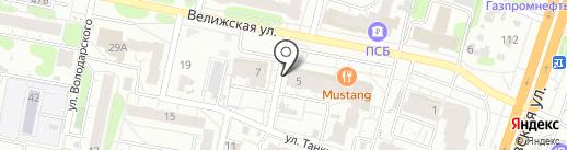 Дентал Найс на карте Иваново