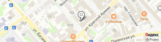 Компания по прокату строительного инструмента на карте Иваново